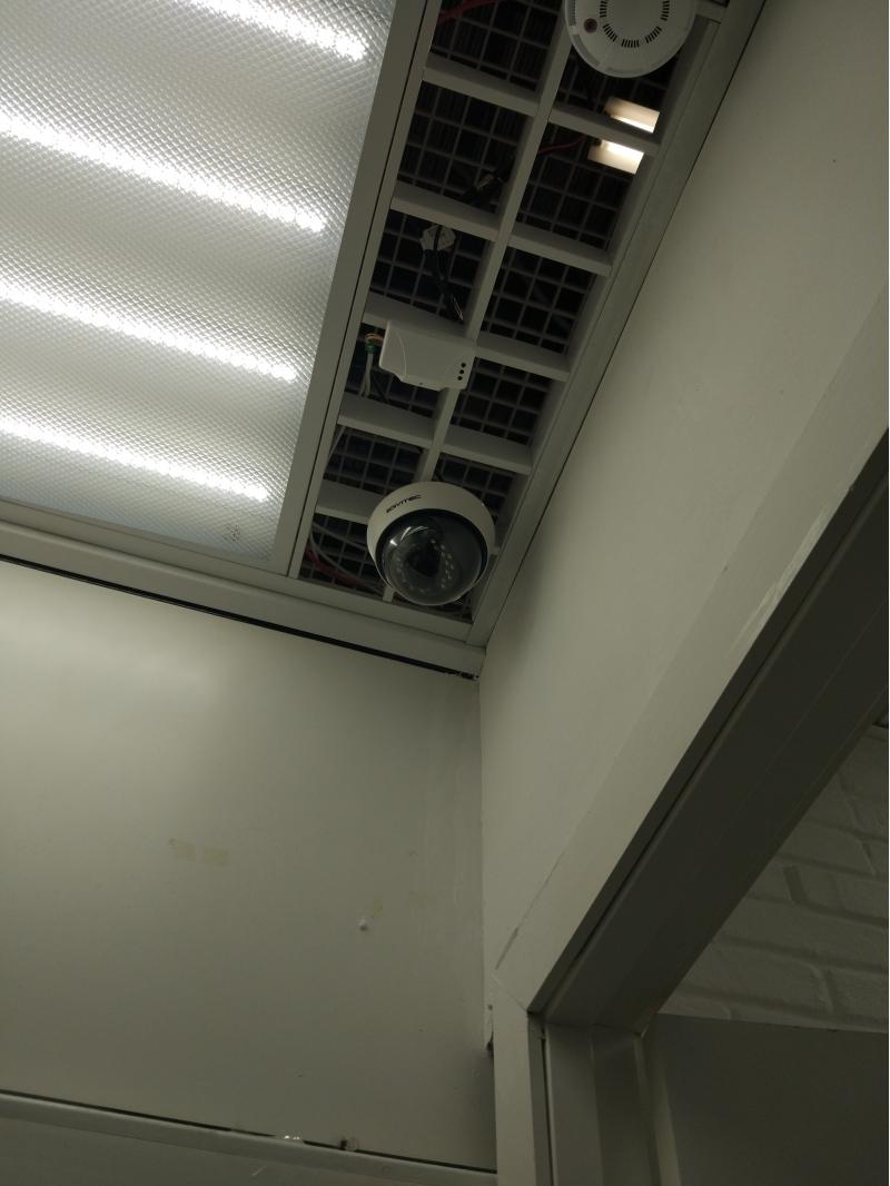 Установка камер видеонаблюдения в Туле