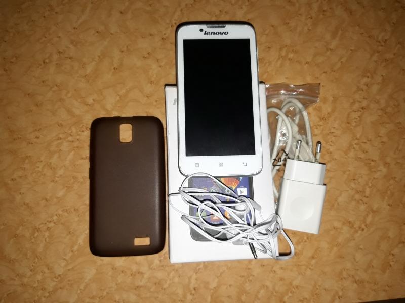 Смартфон Lenovo A328 белый