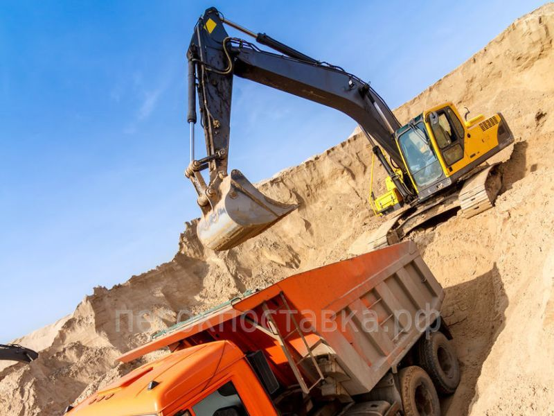 Где купить строительный песок в СПб