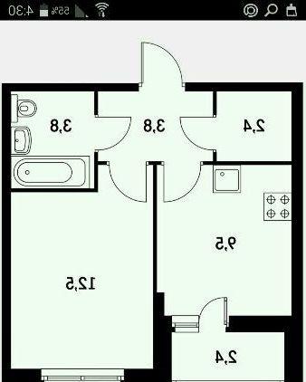 Продам 1-комнатная квартиру.