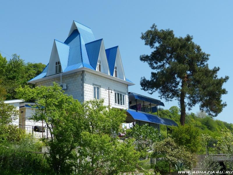 Отдых в Абхазии летом частный сектор Гребешок