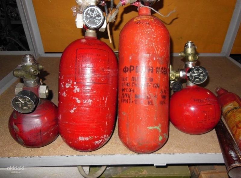Закупка и утилизация баллонов газа пожаротушения фреон хладон по РФ СНГ