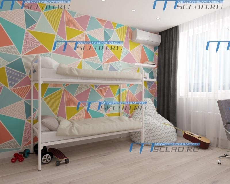 Производим и продаем металлические кровати оптом и в розницу по низким ценам.
