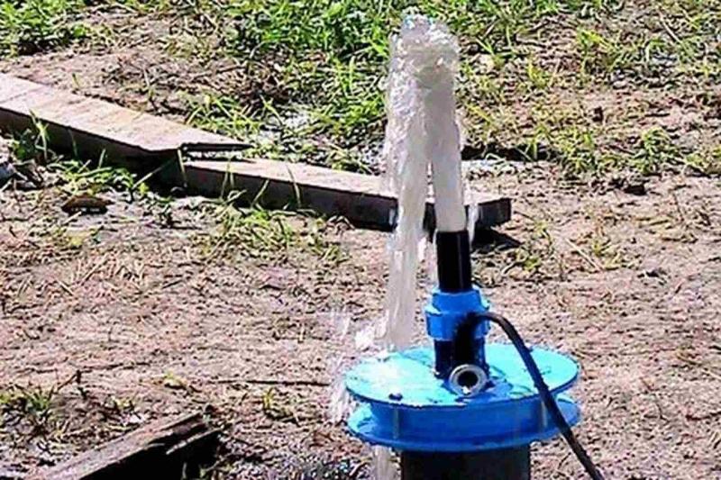 Чистка водоносных скважин до чистой воды.