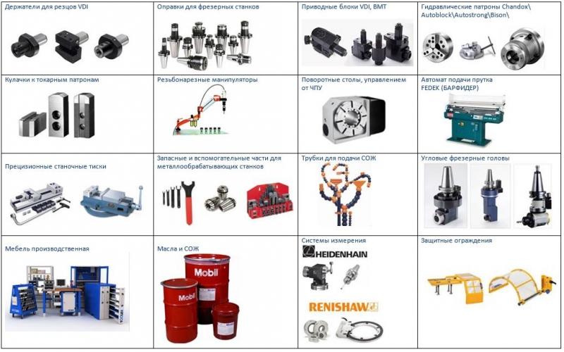 Станочная оснастка для металлообрабатывающего оборудования