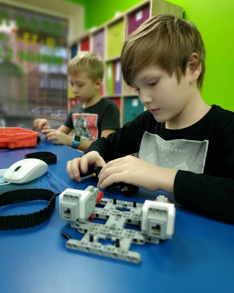 Занятия по робототехнике для детей