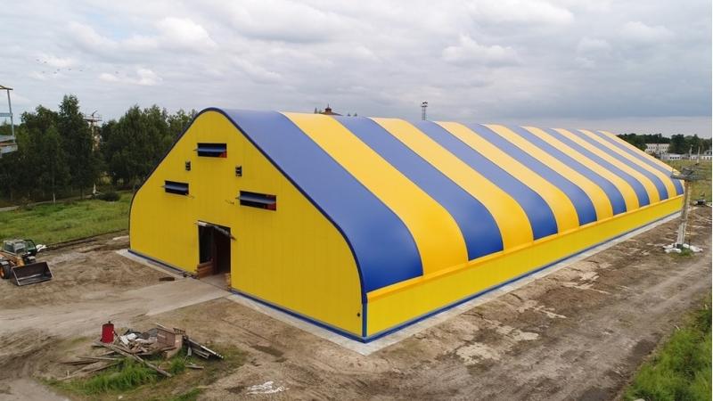 Быстровозводимые тентовые ангары для спорта, сельского хозяйства, животноводства, склады и гаражи для техники.