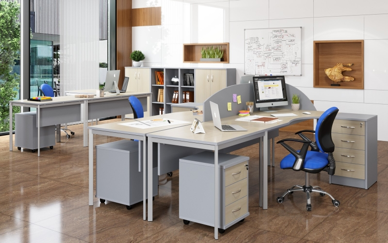 Офисная мебель в наличии