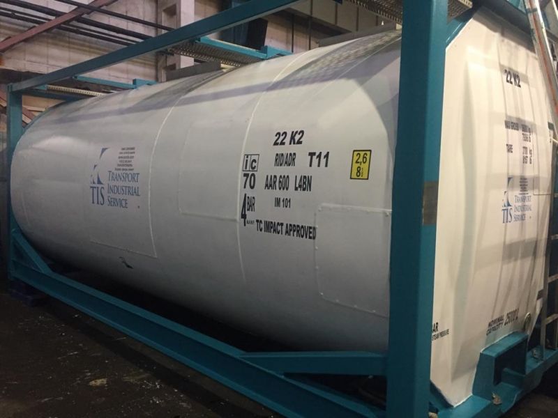 20 фут танк контейнер