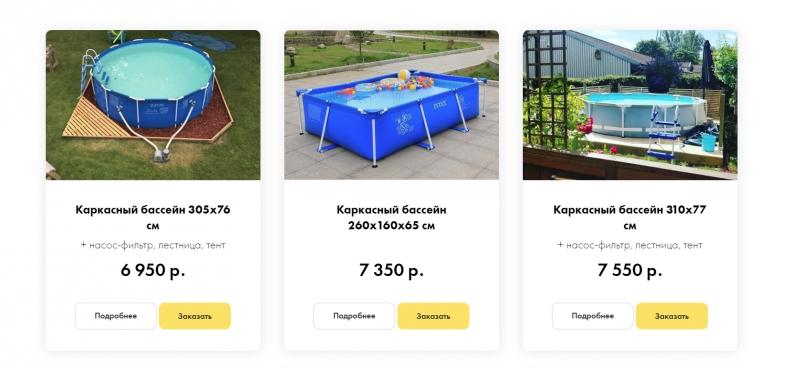 Бизнес по продаже каркасных бассейнов