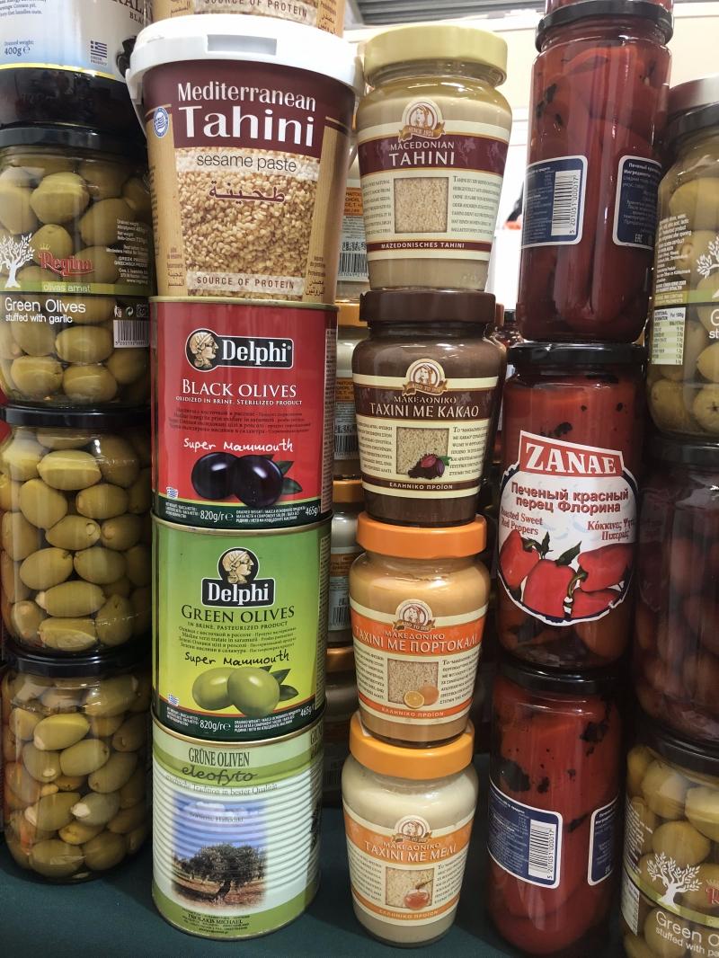 Греческая продукция. Оливки, оливковое масло и др