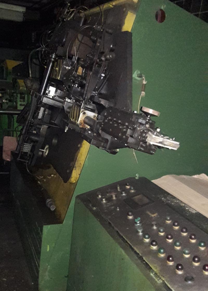 МАГ 25-02 многоползунковый пресс автомат