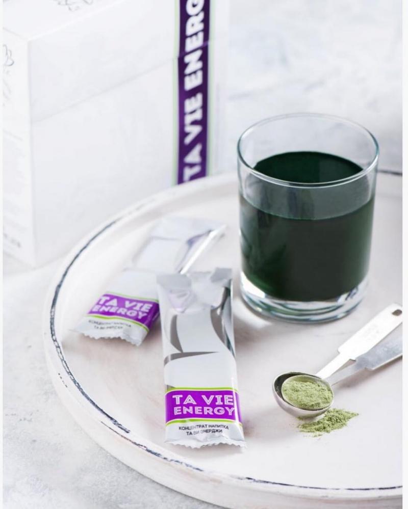 Ta Vie Energy - коктейль из злаков и водорослей