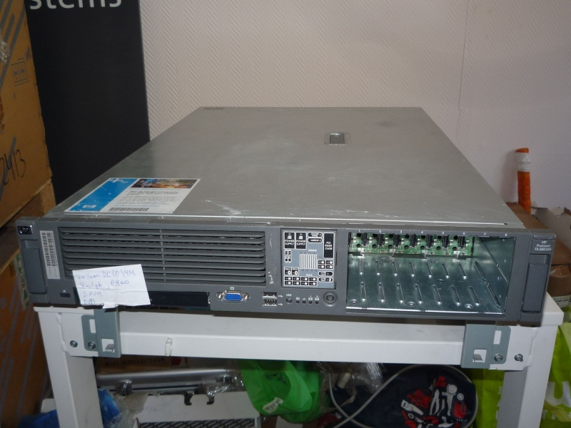 8 ядер HP ProLiant DL360 DL380 G5 Xeon