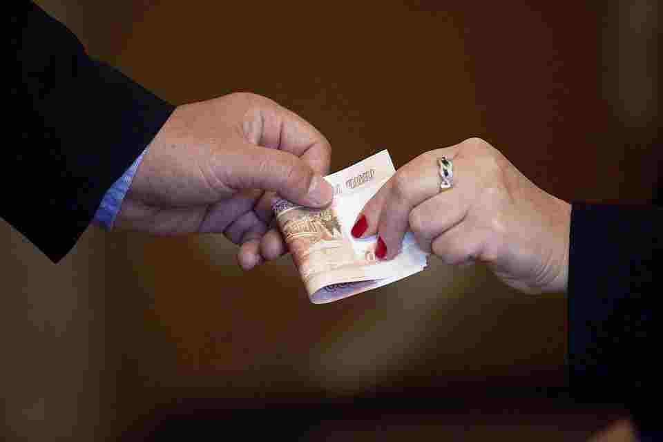 Финансовые средства в долг от частного лица в день обращения
