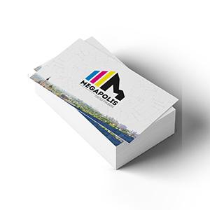 Офсетная печать визиток, листовок, наклеек
