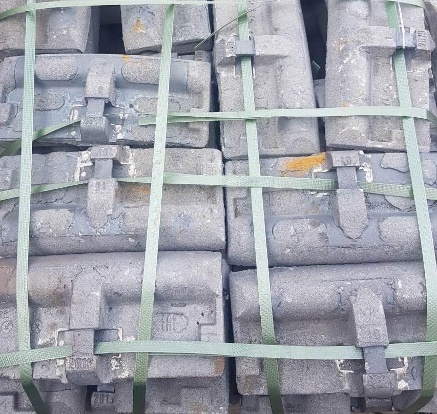 Колодка чугунная гребневая тип М для локомотивов ГОСТ 30249-97 новая-2019г., с
