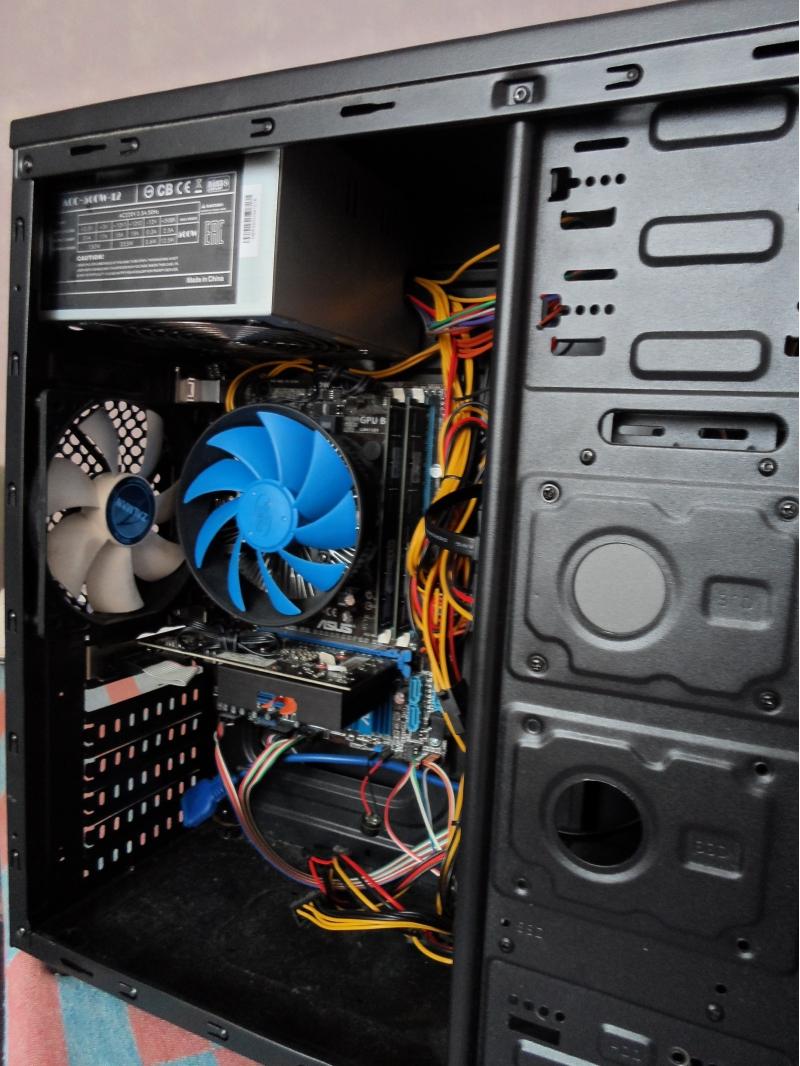 Системный блок i7-3770, 16 Гб, GTX 440 1 Гб, 500W