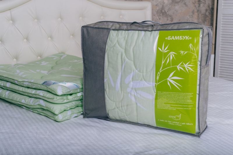 Одеяло Бамбук 200 гм2, Микрофибра