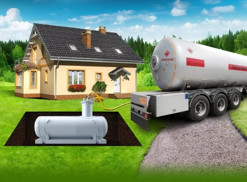 Газгольдеры для частного дома