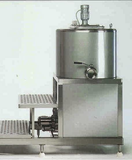 Сыроварня 350 литров на постаменте  Италия