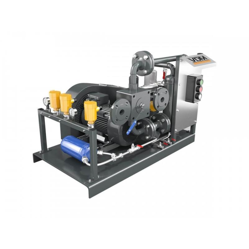 Винтовой компрессор VDM  667.311 на 100 м3 час