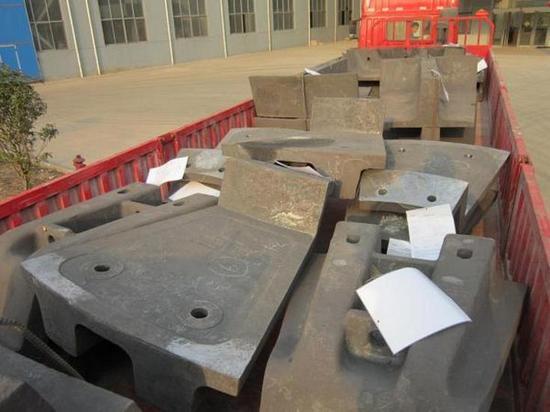 Изготовление отливок из износостойкой стали