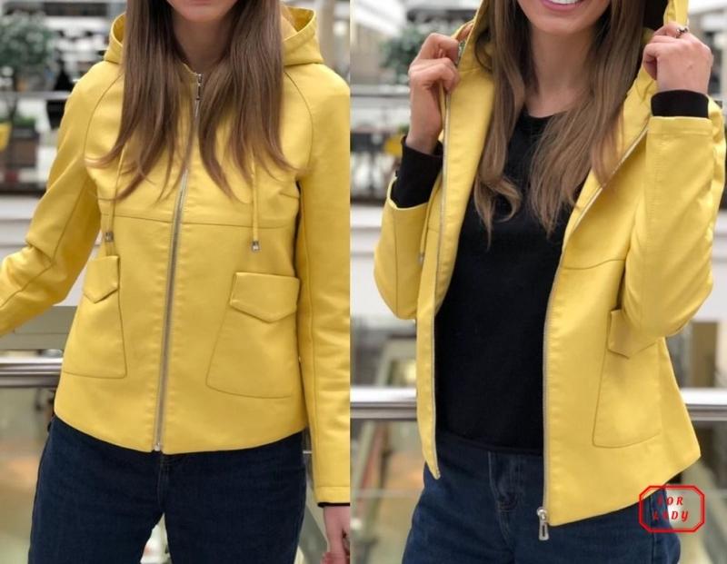 Женские кожаные куртки по низким ценам
