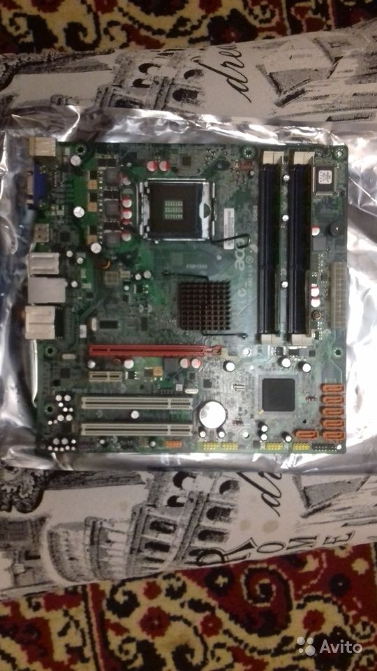 Материнская плата 775 сокет  оперативка DDR3