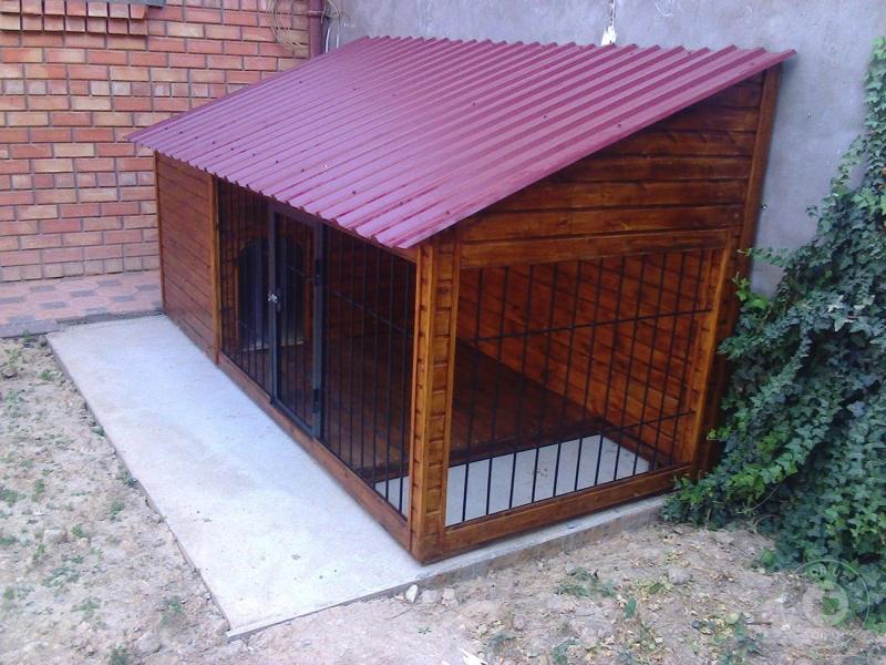 Вольер и будки для собак