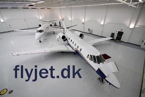 Бизнес авиация и перелеты в Дании