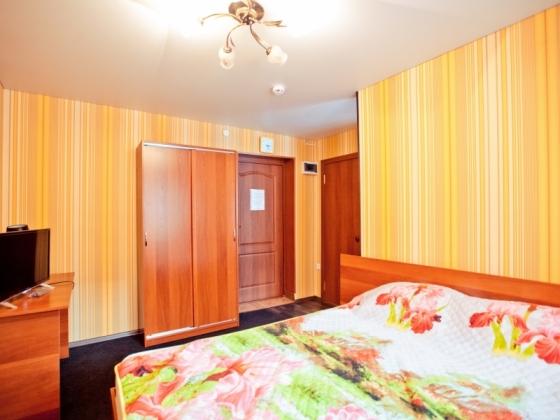 Бронирование гостиницы с 1-комнатным номером