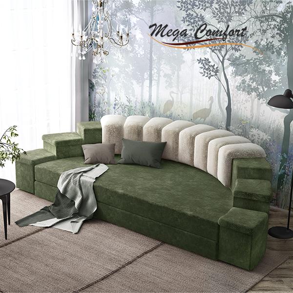 Круглая интерьерная кровать Донжон
