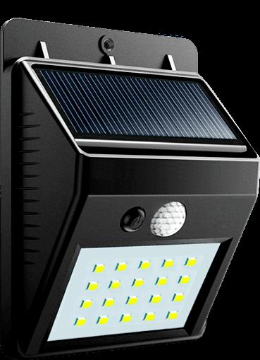 Светодиодный светильник на солнечной батарее