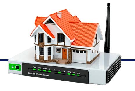Установка интернета в частном доме