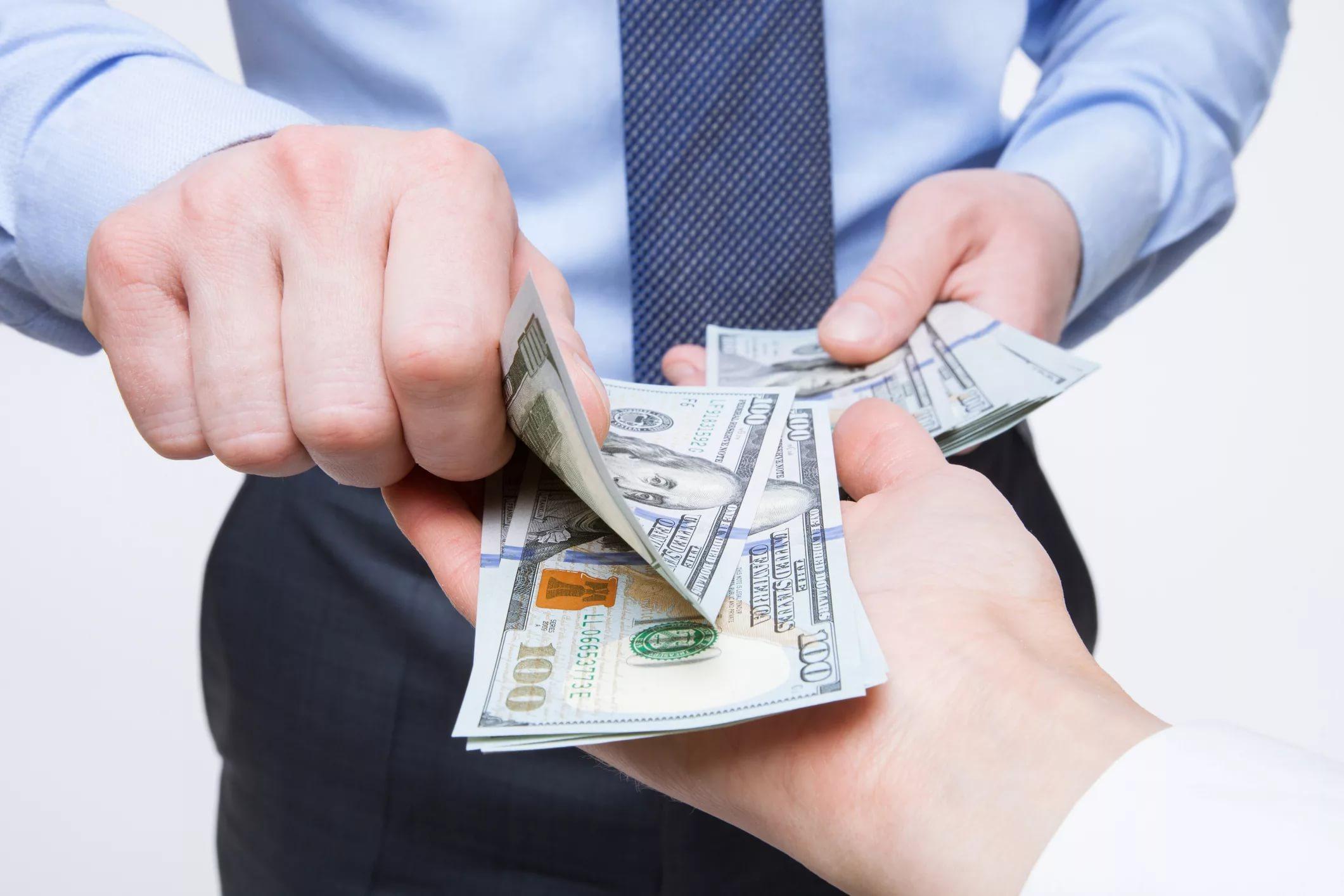 Деньги до 4 ООО ООО р. от частного лица под расписку.