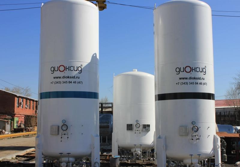 Оборудование для перевозки и хранения технических газов