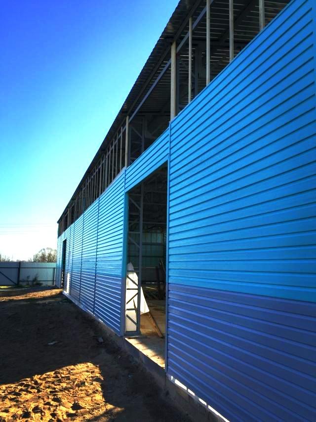 Гараж, склад, ангар и другие строения из металлоконструкций под ключ