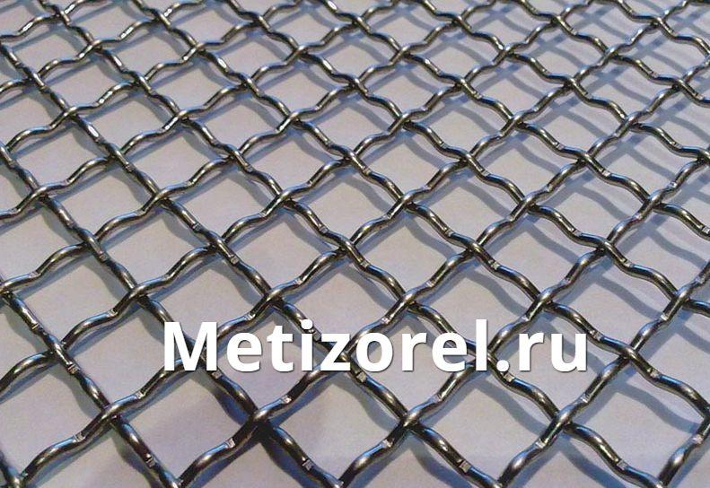 Сетка рифленая сталь 55-70 для грохотов
