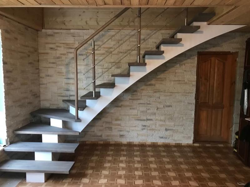 Производство лестниц, Лестничные ступени, Лестничные перила