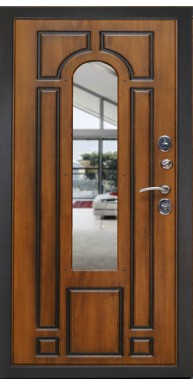 Металлические двери с ковкой