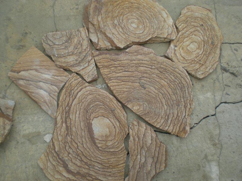 Камень Шкура тигра декоративный песчаник пластушка