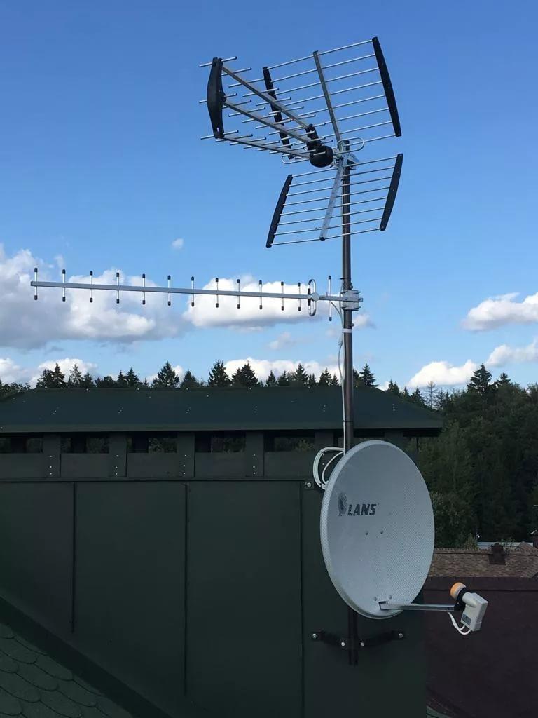 Установка, ремонт, настройка антенн