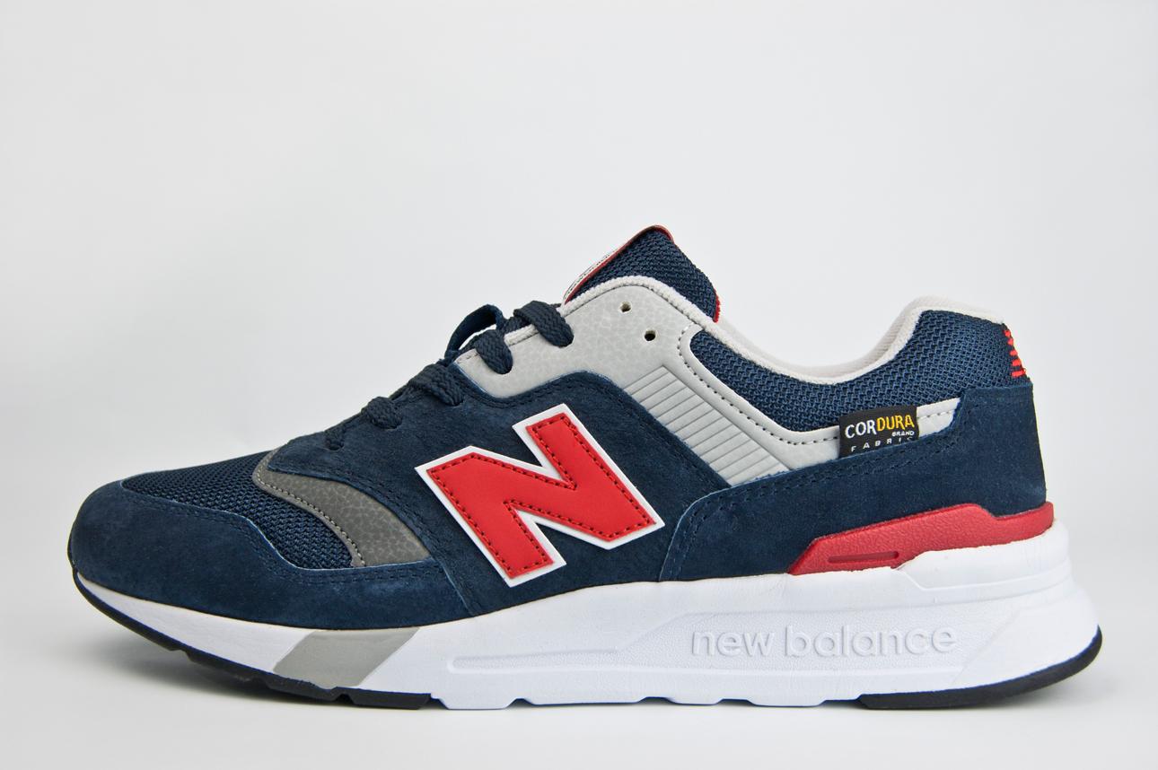Кроссовки New Balance 997 Navy  Red
