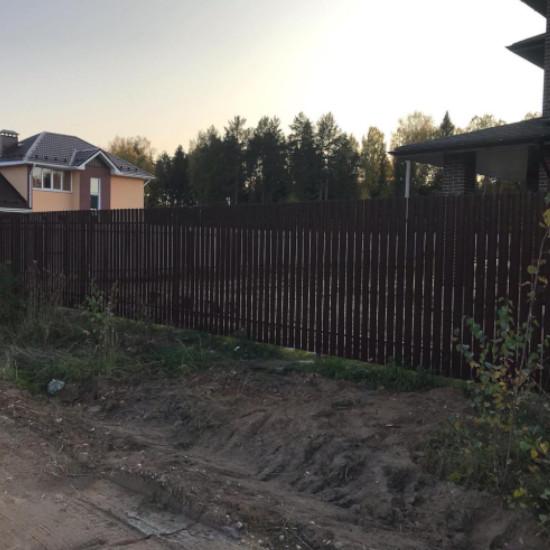 Евроштакет и установка заборов в Кирове