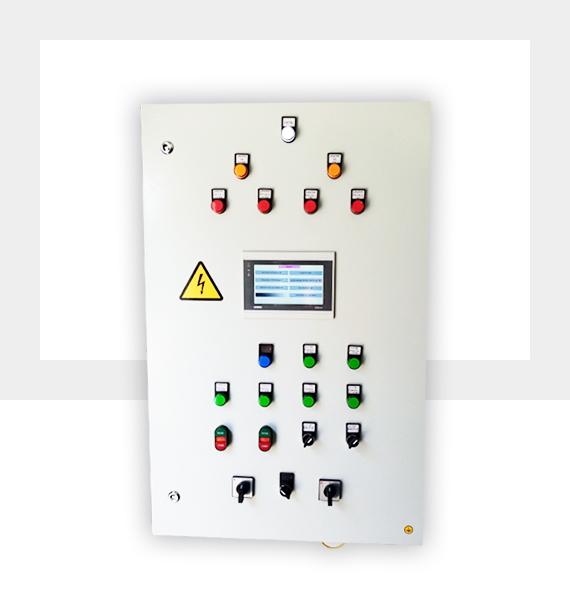 Шкаф управления ИТП отопление 2 насоса и ГВС 2 насоса и диспетчеризация