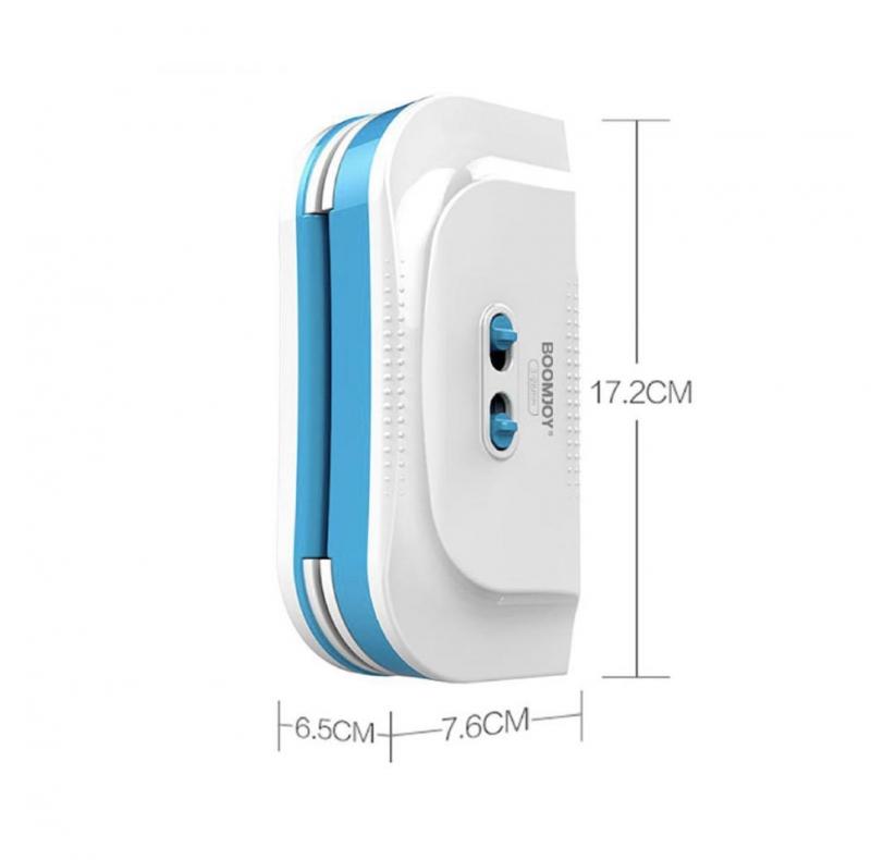 Магнитная щетка премиум класса для мойки окон Boomjoy C9 Pro