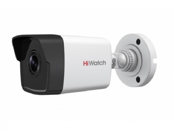 Уличная 4Мп IP видеокамера Hiwatch DS-I400 B