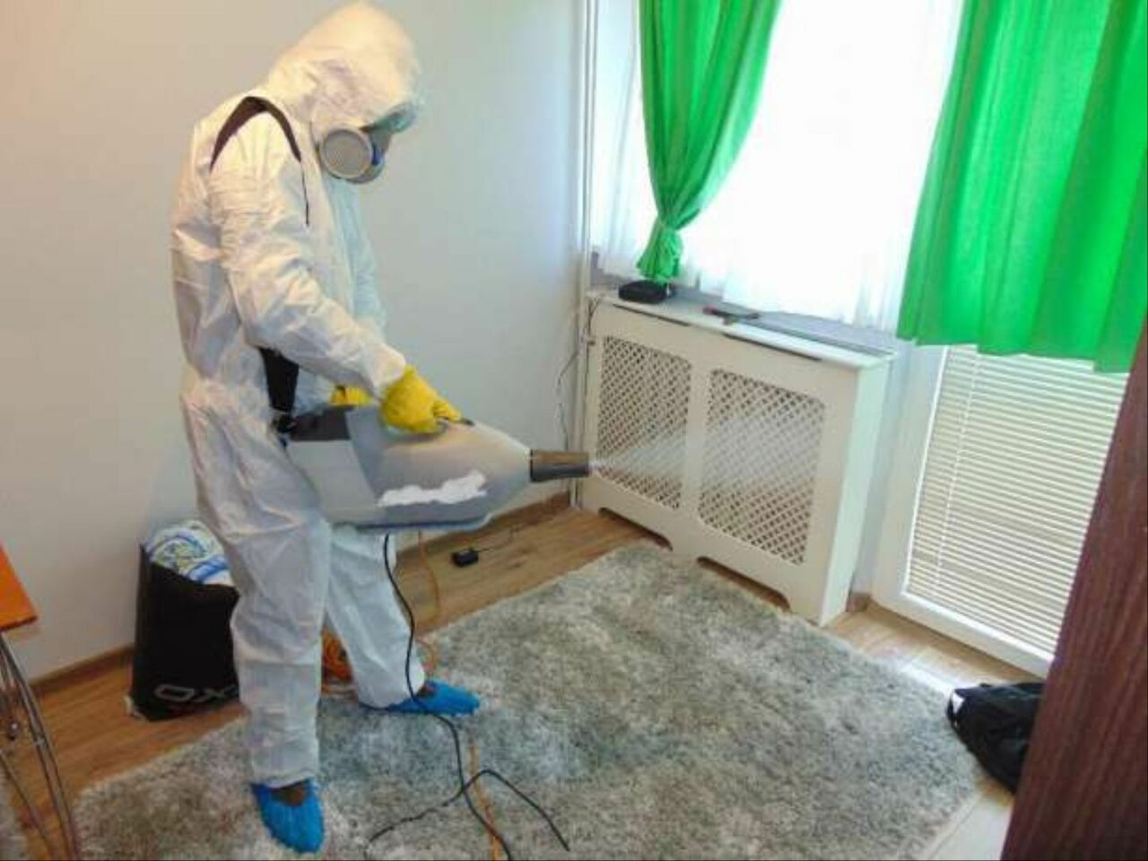 Уничтожение от тараканов в квартире