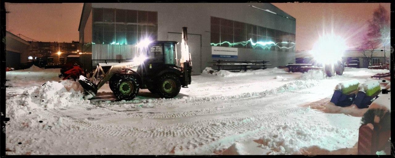 Срочная уборка снега СПб